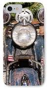 A Very Old Indian Harley-davidson IPhone Case by James BO  Insogna