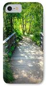 A Walk In The Park IPhone Case by Carol Groenen