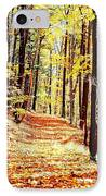 A Yellow Wood IPhone Case by Joshua House