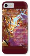 A Yoga Teacher IPhone Case by Felipe Adan Lerma
