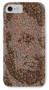 Abraham Lincoln Penny Mosaic IPhone Case by Paul Van Scott
