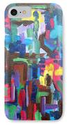 Abstract 213 IPhone Case by Patrick J Murphy