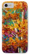 Abstract Autumn IIi IPhone Case