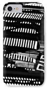 Abstract Reflection 4 IPhone Case by Sarah Loft