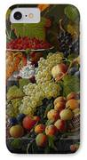 Abundant Fruit IPhone Case by Severin Roesen
