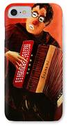 Accordeon IPhone Case