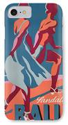 Advertisement For Bally Sandals IPhone Case by Druck Gebr