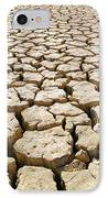 Africa Cracked Mud IPhone Case by Larry Dale Gordon - Printscapes