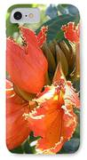 African Tulips IPhone Case