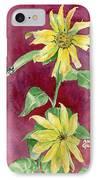 Ah Sunflowers IPhone Case