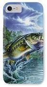 Airborne Bass IPhone Case by Jon Q Wright