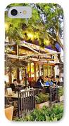Al Fresco Dining IPhone Case by Chuck Staley