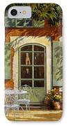 Al Fresco In Cortile IPhone Case by Guido Borelli