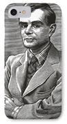 Alan Turing, British Mathematician IPhone Case
