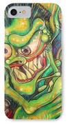 Alcoholic Demon IPhone Case