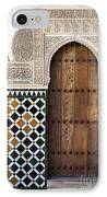 Alhambra Door Detail IPhone Case