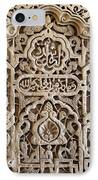 Alhambra Wall Panel IPhone Case by Jane Rix