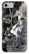 Alice And Friends 1 IPhone Case