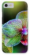 Alien Orchids IPhone Case by Bill Tiepelman