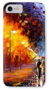 Alley By The Lake IPhone Case by Leonid Afremov