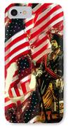 American Pirate IPhone Case by David Lee Thompson