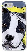 American Staffy IPhone Case by Leanne Wilkes