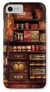 Americana - Store - The Local Grocers  IPhone Case by Mike Savad