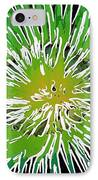 An Abstract Scene Of Sea Anemone 2 IPhone Case by Lanjee Chee