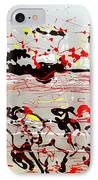 And Down The Stretch They Come IPhone Case by J R Seymour