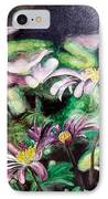 Anemones Japonaises IPhone Case