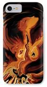 Angel Dance IPhone Case