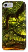 Angel Oak Limbs 2 IPhone Case by Susanne Van Hulst