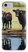 Angus Reflections IPhone Case