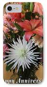 Anniversary Card IPhone Case