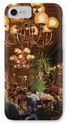 Antica Brasserie IPhone Case by Guido Borelli