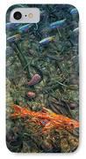 Aquarium 2 IPhone Case by James W Johnson