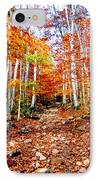 Arethusa Falls Trail IPhone Case by Greg Fortier