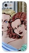 Arielle And Gabrielle IPhone Case by Tara Hutton