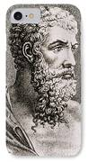 Aristotle, Ancient Greek Philosopher IPhone Case by Science Source
