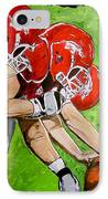 Arkansas Razorbacks Football IPhone Case