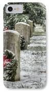 Arlington Christmas IPhone Case by JC Findley