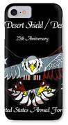 Armed Forces Desert Storm IPhone Case