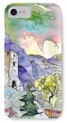 Arnedillo In La Rioja Spain 03 IPhone Case by Miki De Goodaboom