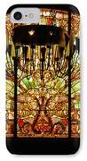 Artful Stained Glass Window Union Station Hotel Nashville IPhone Case by Susanne Van Hulst