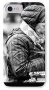 Artiste Paris IPhone Case by John Rizzuto