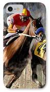At The Bend IPhone Case by James Shepherd