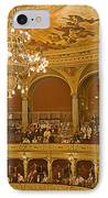 At The Budapest Opera IPhone Case by Madeline Ellis