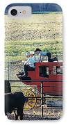 At The Cody Rodeo IPhone Case by Jan Amiss Photography