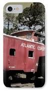 Atlantic Coast  Line Railroad Carriage IPhone Case