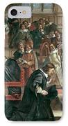 Attempted Arrest Of 5 Members Of The House Of Commons By Charles I IPhone Case
